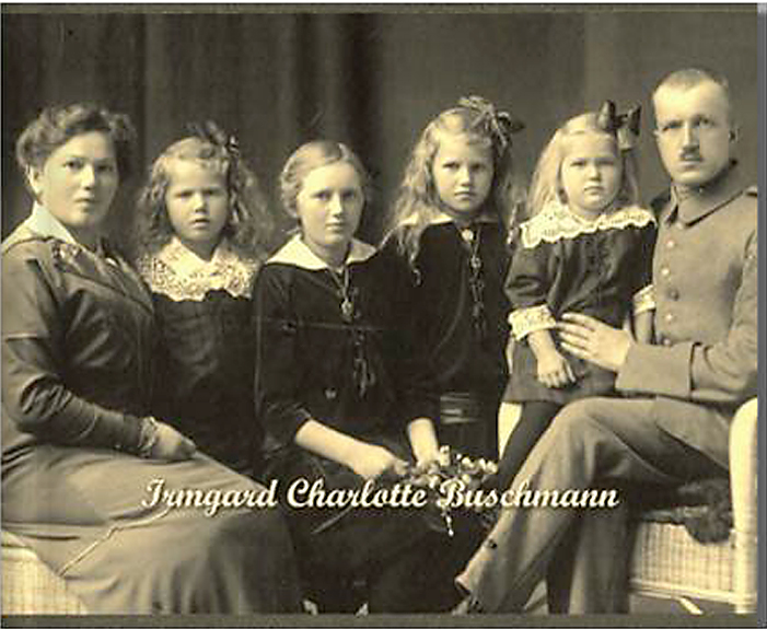 Bildbiographie Buchbeispiel Irmgard Charlotte Buschmann