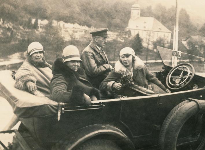 Das Wanderer Puppchen als Viersitzer in den 1920er Jahren