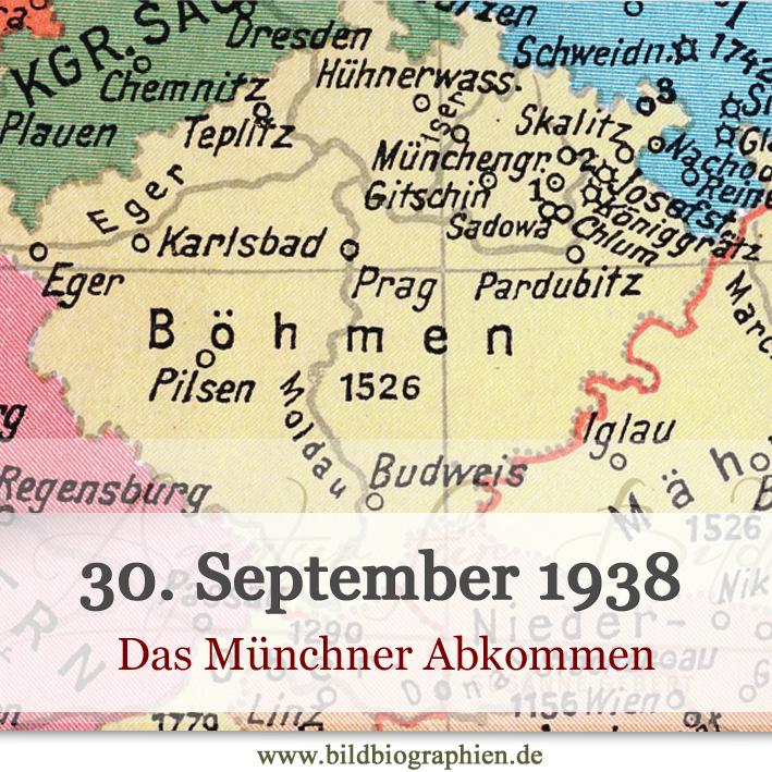 Der Weg zum 2. Weltkrieg: Das Münchner Abkommen