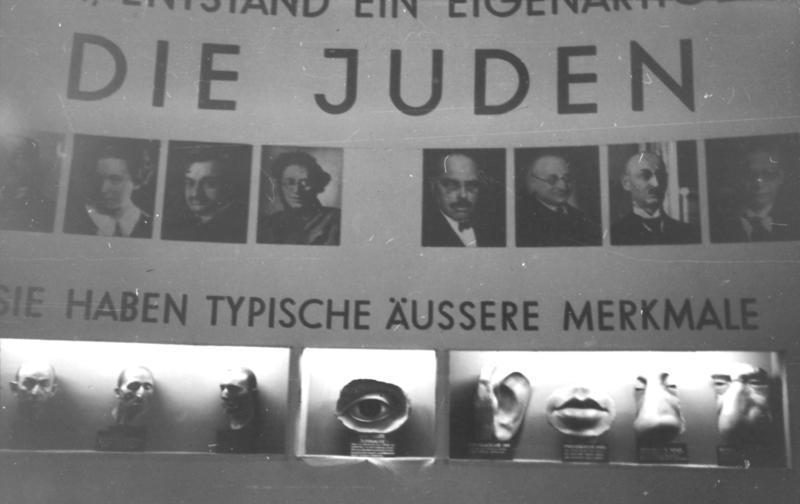 """Ausstellung """"Der ewige Jude"""" im Deutschen Museum, 7.-8.11.1937"""