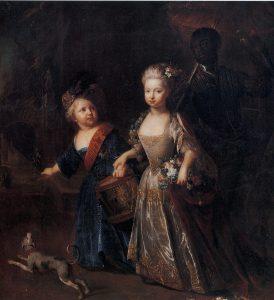 Friedrich der Große und seine Lieblingsschwester Wilhelmine