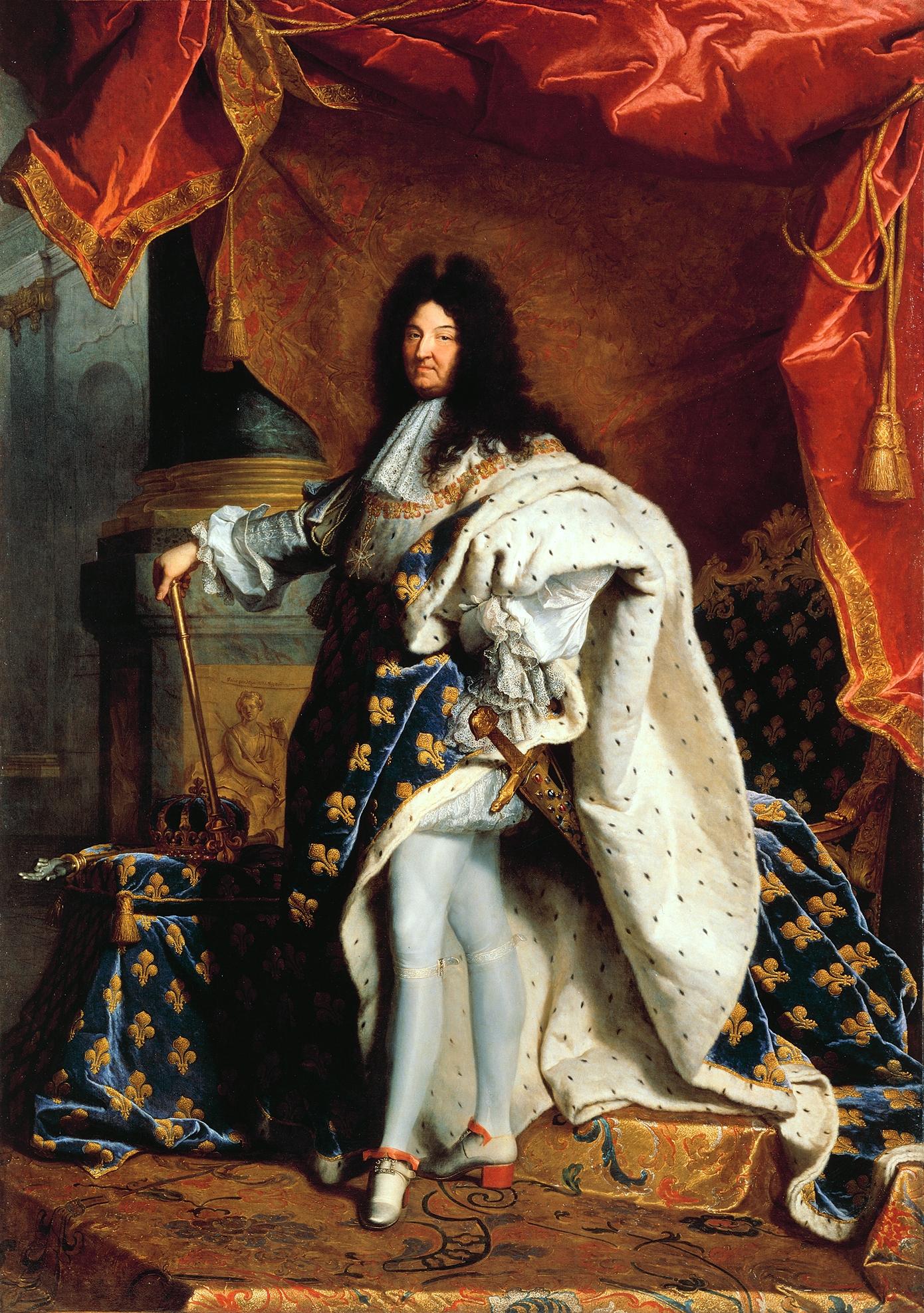 Der französische Sonnenkönig Ludwig 14.