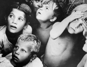 RIAN_archive_137811_Children_during_air_raid