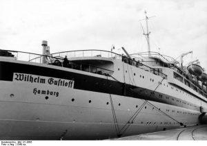 Das Lazarettschiff Wilhelm Gustloff im Osloer Hafen
