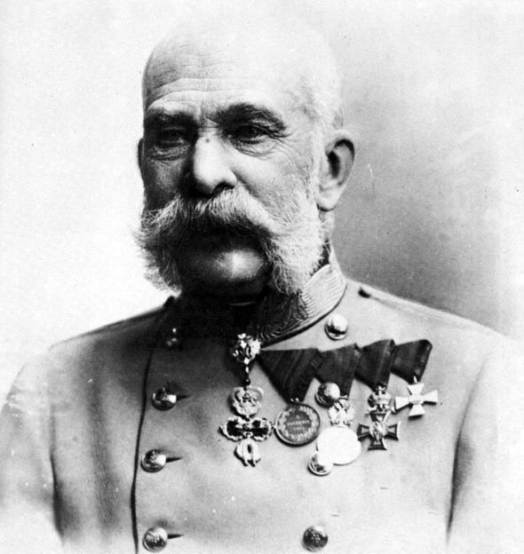 Der Kaiser Franz Joseph von Österreich, ca. 1915