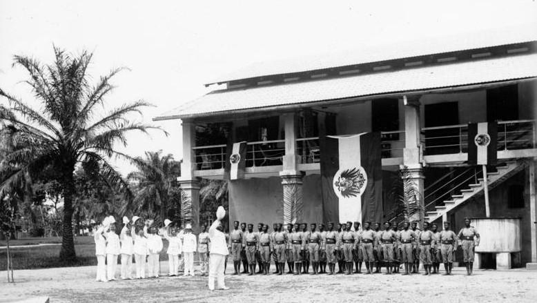 Kamerun, Duala, Polizeitruppe