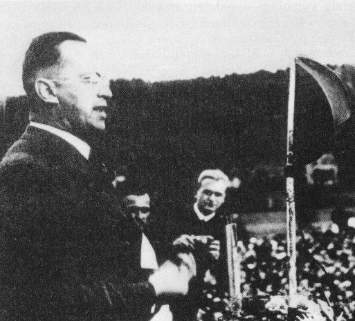 Konrad Henlein in Karlovy Vary (Karlsbad), 1937, unbekannter Fotograf