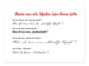 Alte Schriftenb