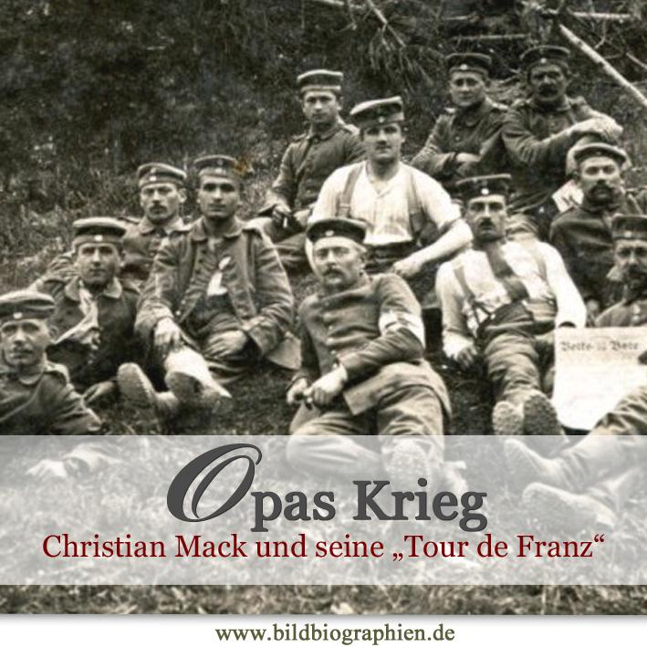 1. Weltkrieg - 90 Jahre danach: Opa twittert aus dem Schützengraben