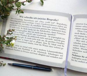 Frag Opa Geschenkbuch Biografie Wie schreibe ich meine Biografie