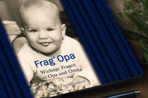 Frag Opa Geschenkbuch Biografie schreiben leicht gemacht