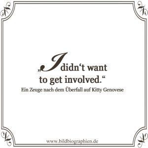 Kitty Genovese - Zuschauen kann töten