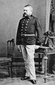 Adolf Hitlers Vater Alois, geboren Schicklgruber, ca. 1897