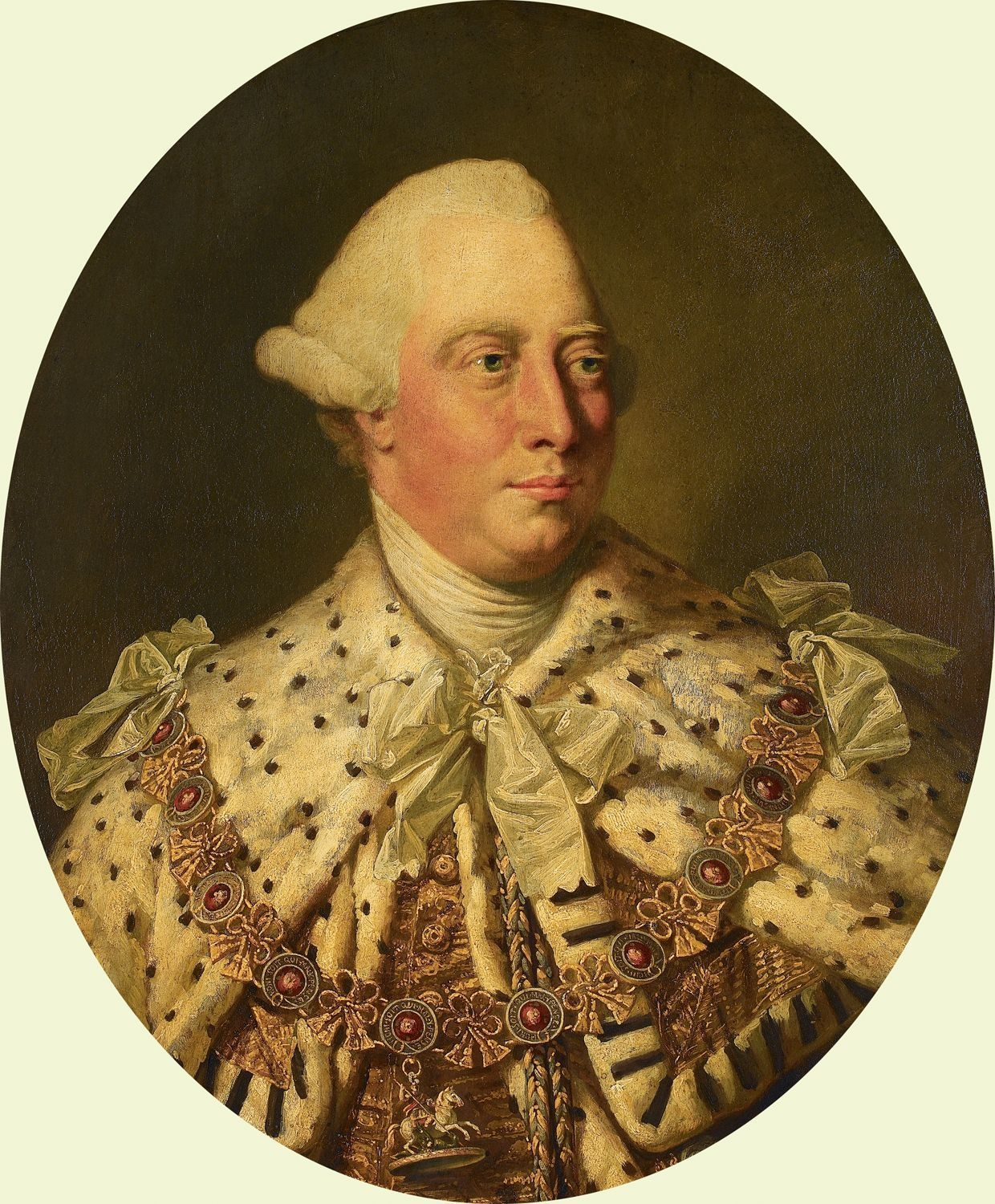 """Farmer George"" König George III."