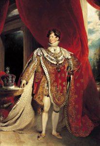 König George IV von England