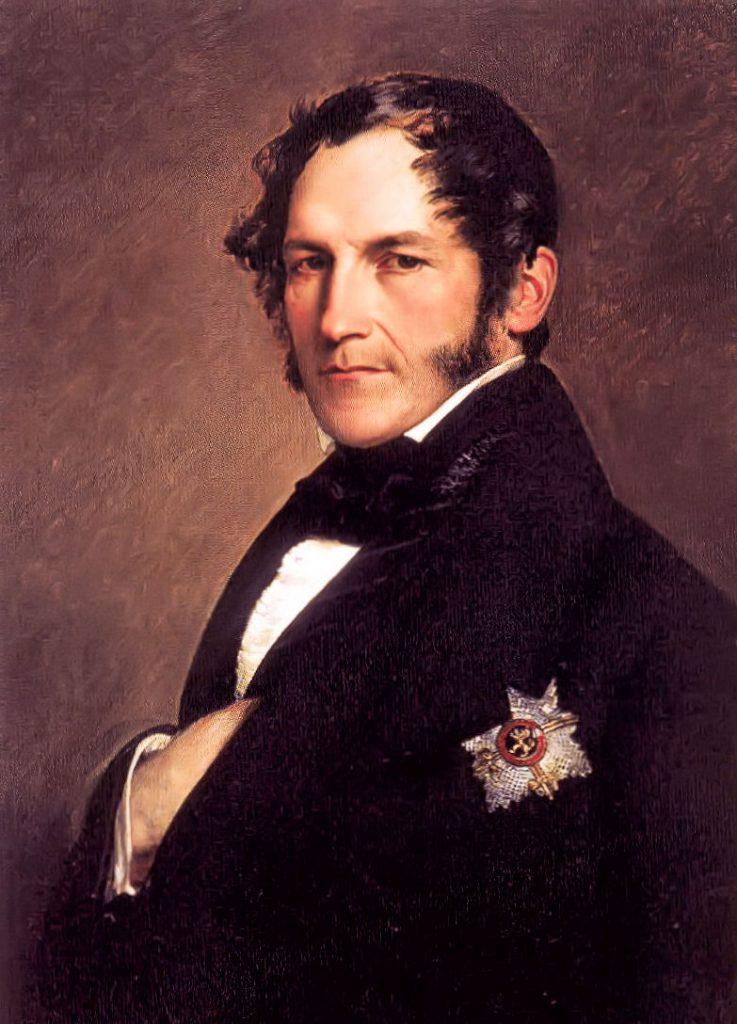 Leopold I., König der Belgier, Gemälde von Franz Xaver Winterhalter
