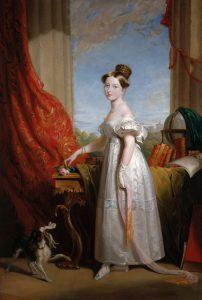 Prinzessin Victoria mit Spaniel Dash, Sir George Hayter, 1833
