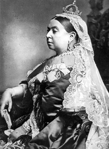 Queen Victoria (1819 - 1901) anlässlich ihres Thronjubiläums 1887