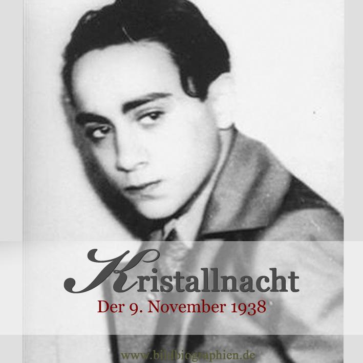Kristallnacht am 9. November 1938