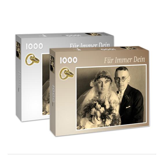 Für immer dein Fotopuzzle nach eigener Vorlage 1000 Teile