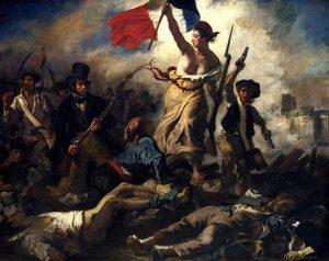 Die Freiheit führt das Volk, Eugène Delacroix,