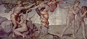 Michelangelo Schöpfungsgeschichte Sixtinische Kapelle