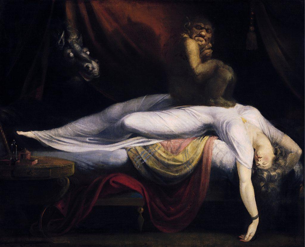 """""""The Nightmare"""" Von Johann Heinrich Füssli – wartburg.eduimage"""