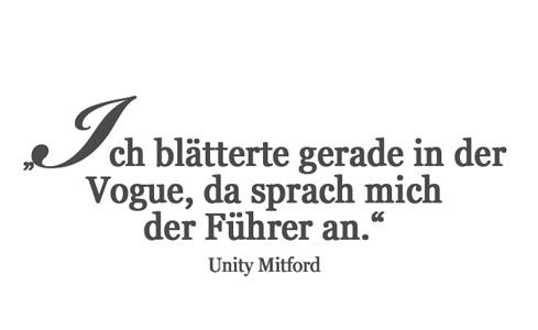 Das kurze Leben der Unity Mitford