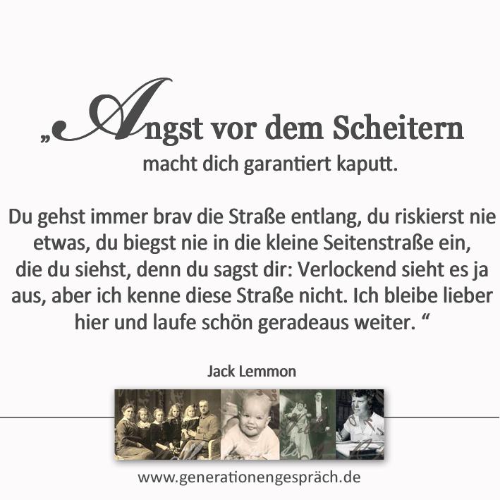 Immer mit dem Schlimmsten rechnen? www.generationengespräch.de