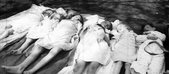 Die sechs getöteten Goebbels-Kinder, Mai 1945