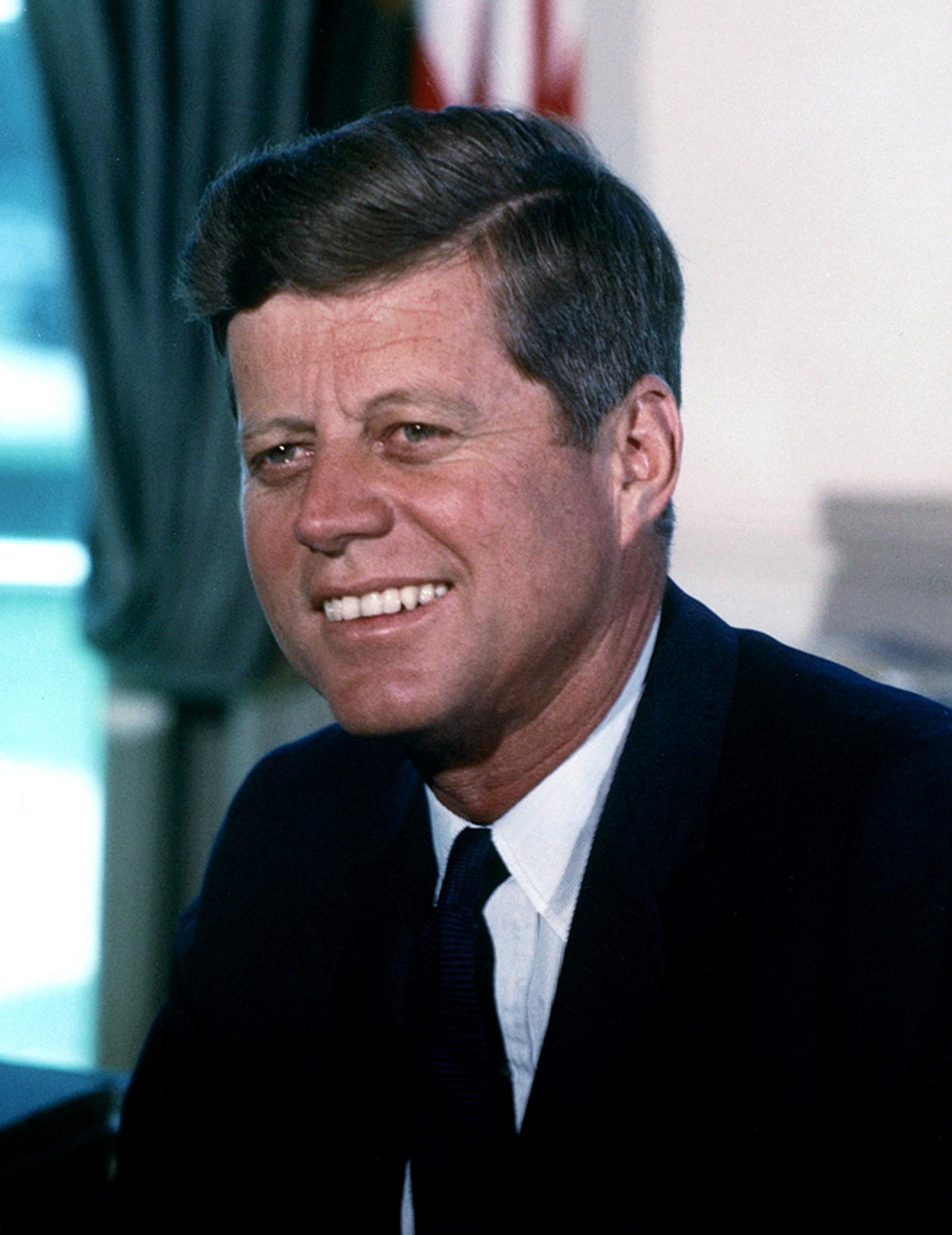 John F. Kennedy (1963) Von Cecil Stoughton, White House